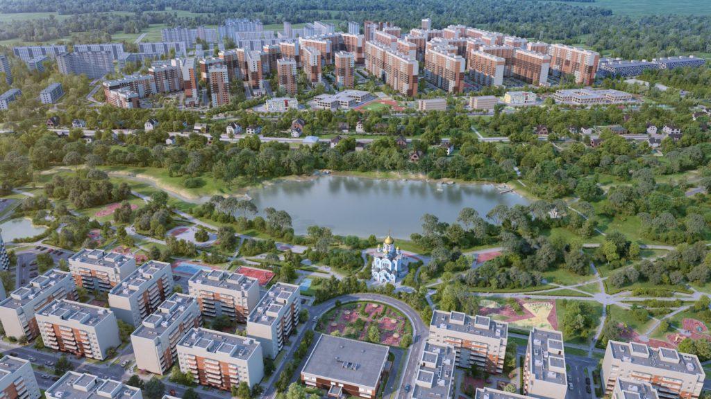 Жилой комплекс «Столичный» - один из строительных объектов компании «Главстрой-регионы»